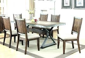 Industrial Style Kitchen Table Round
