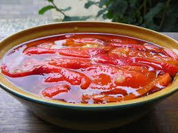 cuisiner les poivrons rouges poivrons rouges marinés à l huile d olive séverine cuisine et