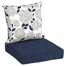 Deep Patio Cushions Home Depot by Hampton Bay Floral Outdoor Cushions Patio Furniture The