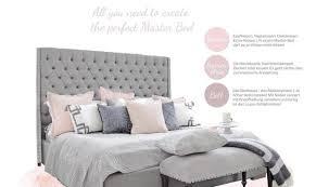 51 schlafzimmer deko ideen grau rosa