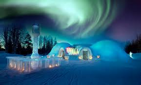 Northern Lights Viewing and Snow and Ice Architecture Travel Trade