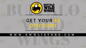 2018] Bwwlistens.com - Buffalo Wild Wings Survey To Become ... Buffalo Wild Wings Survey Recieve Code For Free Stuff Coupon Code Sweatblock Is Buffalo Wild Wings Open On Can You Use Lowes Coupons At Home Depot Gnc Discount How Much Are The Bath And Body Tuesday Specials New Deals Best Healthpicks Coupon Silvertip Tree Farm Coupons 1 Promo Codes Updates Prices September 2018 Sale Over Promo Motel 6 Colorado Springs National Chicken Wing Day 2019 Get Free Lasagna Freebies Discounts Game Food Find 12 Cafe Zupas Codes October