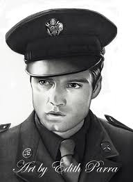 A Portrait Drawing Of Actor Sebastian Stan As James Buchanan Bucky Barnes From The Film Captain America First Avenger