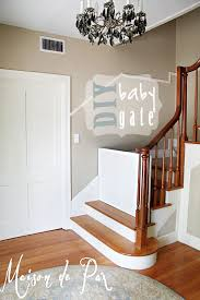 Stunning Baby Gate For Stairs Photo Concept ~ Home & Interior Design Baby Gate For Stairs With Banister Ipirations Best Gates How To Install On Stairway Railing Banisters Without Model Staircase Ideas Bottom Of House Exterior And Interior Keep A Diy Chris Loves Julia Baby Gates For Top Of Stairs With Banisters Carkajanscom Top Latest Door Stair Design Wooden Rs Floral The Retractable Gate Regalo 2642 Or Walls Cardinal Special Child Safety Walmartcom Designs