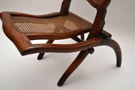 Antique Victorian Mahogany Folding Chair | Marylebone ...