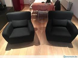 canapé tissu noir canapé tissu noir marque cinna a vendre 2ememain be