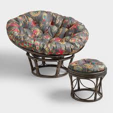 World Market Papasan Chair by Antigua Micro Suede Papasan Chair Cushion World Market