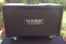 Mesa Boogie Cabinet 2x12 by 2x12 Recto Horizontal Cabinet Guitar Amplifiers