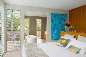 modernes schlafzimmer mit blick in bild kaufen