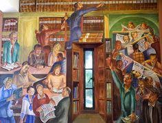 coit tower city life mural right half wpa art architecture