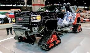 Call Chicago The 'Snow Show' American Track Truck Car Suv Rubber System Canam 6x6on Tracks Atv Sxs Quads Buggies Pinterest Atv Halftrack Wikipedia Major Snowshoes For Your Car Snow Track Kit Buyers Guide Utv Action Magazine Gmc Pickup On Snow Tracks Tote Bag Sale By Oleksiy Crazy Rc Semi 6wd 5 Motors Pure Power Testimonials Nissan Tames Snow With Winter Warrior Track Trucks Video