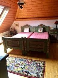 details zu voglauer möbel für gesamtes schlafzimmer anno 1800 handbemalt bauernzimmer