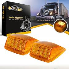 2x17 LED Amber Roof Top CAB Marker Clearance Lights For Peterbilt ... Truck Led Lights 2 Inch Round Trailer Marker Install How To Youtube 9 33v 8led Amber Side Marker Lightclearance Lamp Ailertruck 2008 F150 Leds Strobe All Around Led And W Clear Lens 25 Side Lets See Them Chicken Dodge Cummins Diesel Forum Ram Clearance Inspiration New 2018 1500 Express Dorman Cab Roof Parking 5 Piece Kit For 212 2410x Round Light Indicator Lamp Car Bus Trucklite 8946a Oval Signalstat Replacement