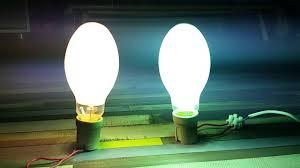 Self Ballasted Lamp Bulb by Mercury 160w Self Ignition Ballasted Vs 125w Ballast Youtube