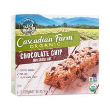 Chocolate Chip Chewy Granola Bars By Cascadian Farm