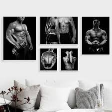 unframed 11 bodybuilding motivationszitat wand bilder