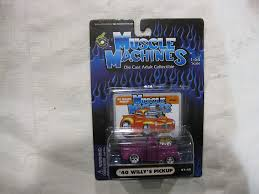 100 Willys Truck Parts Amazoncom Muscle Machines Purple 40 Jeep Pickup Issue 01