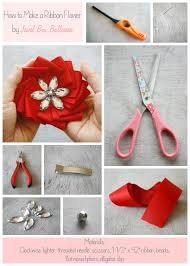 Free Handmade Flower Tutorial