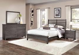 Vaughan Bassett Triple Dresser by Commentary Benchback Bedroom Set Steel Vaughan Bassett