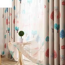 qwasfcds gardinen kinder zimmer vorhang wohnzimmer