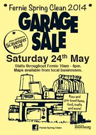 garage sale poster Yun56