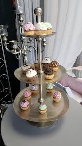 THREE TIER RUSTIC CAKE STAND