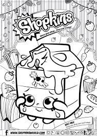 25 Unique Shopkins Coloring Pages Free Printable Ideas On