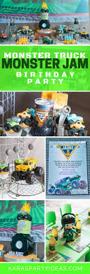 100 Monster Truck Birthday Party Supplies Invitations Diy Decorations Ideas