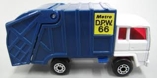 Toy, Matchbox Rubbish Truck, Refuse Truck, No. 30, Superfast, 'Metro ...