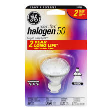 ge edison halogen 50 watts flood track recessed light bulb 1 0