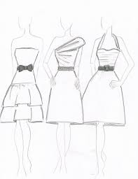 Fashion Sketch For Beginners How To Draw Design Sketches Inderecami Drawing Ideas