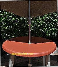 Outdoor Tablecloth With Umbrella Hole Uk by Tablecloths Luxury Round Patio Tablecloth With Umbrella Hole 48