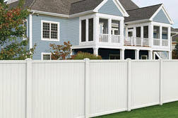 Floor Sweeping Compound Menards by Yardworks 6 U0027h X 6 U0027w Belmont White Vinyl Fence Panel From Menards