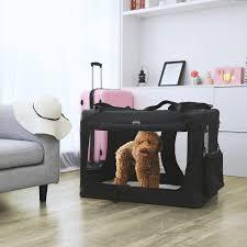 feandrea hundebox transportbox auto hundetransportbox