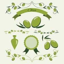 Green olive badge collection