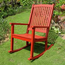 furniture royal fiji rocking chair in red by hinkle chair company
