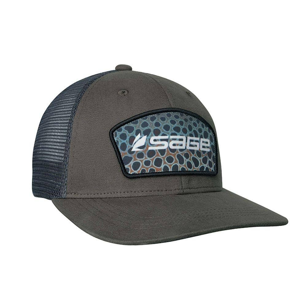 Sage Patch Trucker Hat - Brown Trout by Sportsman's Warehouse