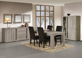 salle a manger complet salle à manger complète contemporaine coloris chêne mara elina