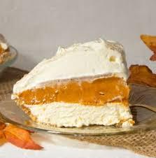 Pumpkin Layer Cheesecake by No Bake Triple Layer Pumpkin Pie Art And The Kitchen