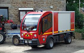 Bréhat, Mini Fire Truck, The Fire Rescue Departmental Service ...
