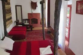 the berber room of the dar el calame riyad bed