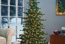 7ft Slim Led Christmas Tree by Slim Prelit Christmas Trees Christmas Decor Inspirations