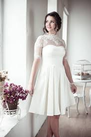 A Line Short Wedding Dress M12 Romantic Gown Classic Bridal Custom Rustic