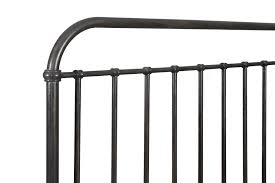 Wrought Iron Cal King Headboard by Industrial Revival Style California King Size Metal Bed By