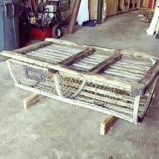Lobster Trap Coffee Table By Me Christmas Tree Shop