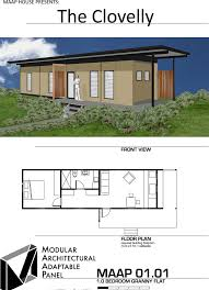 100 One Bedroom Granny Flats Flat Designs Plans And Prices MAAP House