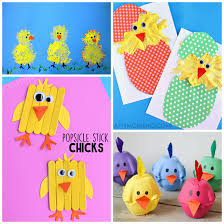 Cute Chick Crafts For Kids To Make
