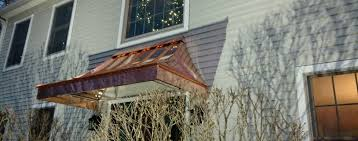 Copper-awning ⋆ Awning Fab Glass Canopy Over Front Door Image Collections Doors Design Ideas Copper Window Awnings A Awning On The Side Of Building Stock Photo Whlmagazine Collections Best Friend Arched Flat Seam Door Awning Raleighroofingcom Architectural Articles With Canvas Tag Amusing Awnings Metal Direct Innovation 127 Images Pinterest Standing Seam Atlantic Gallery Summit Inc Porch