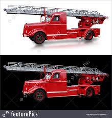 Transportation: Old Italian Fire Truck - Stock Picture I3068023 At ...