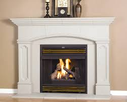Gas Light Mantles Home Depot by Smooth Stucco Fireplace Cobblestone Reclaimed Wood Mantle Stone